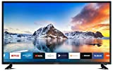 DYON Smart 43 XT 108 cm (43 Zoll) Fernseher (Full-HD Smart TV, HD Triple Tuner (DVB-C/-S2/-T2), Prime Video, Netflix, YouTube & HbbTV, WLAN, Hotel Modus)