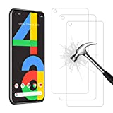 AHABIPERS 3 Stück Schutzfolie für Google Pixel 4A, HD Displayschutzfolie, 9H Härte Schutzfolie, Anti-Kratzer/Bläschen/Fingerabdruck/Staub Panzerglasfolie für Pixel 4A