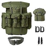 Militär Alice Pack und Alice Butt Pack Army Survival Combat Field A.L.I.C.E. Rucksack Olive Drab Medium
