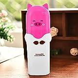 Kunststoff Zahnpasta Box Organizer Badezimmer Wandmontage Elektrischer Zahnbürstenständer Tragbare Zahnbürsten-Aufbewahrungsbox Kaffee und Snacks aus Kunststoff