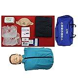 ZMIN Reanimationspuppe Erste Hilfe Übungspuppe, Wiederbelebungspuppe Trainingspuppe, Herz Lungen Reanimation, Medizinische CPR Modell