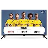 CHiQ L40H7N Smart TV 40 Zoll, Full HD,WiFi, Video,Bluetooth, YouTube, Netflix, Triple T