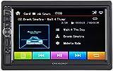 CREASONO 2 DIN Radio: 2-DIN-DAB+/FM-Autoradio, Touchdisplay, Bluetooth, Freisprecher, 4x45 W (2DIN Autoradio)