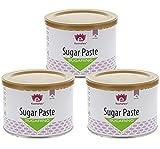 Sugaring Paste Set Kosmetex, Zuckerpaste Haarentfernung zum zuckern, 3x 550g Soft | Medium | Strong
