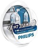 Philips WhiteVision Xenon-Effekt H7 Scheinwerferlampe 12972WHVSM, 2er-Set