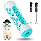 Hundezahnbürste, Hundespielzeug, Hundespielzeug, unzerstörbar, Zahnreinigungsspielzeug, Hundezahnbürste, Kauspielzeug, für mittelgroße und kleine Hunde (blau)
