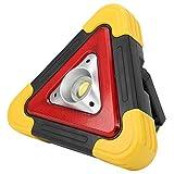 DAUERHAFT Auto-Warndreieck-Lampe ABS-Kunststoffrahmen Wiederaufladbar für Familie für Antrieb