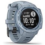 Garmin Instinct - wasserdichte GPS-Smartwatch mit Sport-/Fitnessfunktionen und bis zu 14 Tagen Akkulaufzeit. Herzfrequenzmessung am Handgelenk, Fitness Tracker (Generalüberholt)