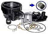 UNTIMERO 70 Sport Zylinder 47mm Nadel Lager Kopf KIT Set für Yamaha DT SM R X 50 AM6 Zylinderkit
