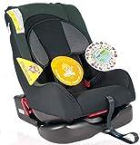 Autokindersitz Kindersitz Baby Autositz GALAXY Gruppe 0+/I (0-18 kg) Mit Farbauswahl, Farbe:Kingsilver