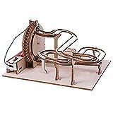 hölzerne mechanische 3D Puzzle mechanische Modell Modellbausatz aus Holzmarmor Puzzle Geschenk, mechanische Puzzles für Kinder Erwachsene, Erleben Sie DIY Spaß