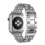 Edelstahlarmband für Apple Watch Band 44mm 40mm iWatch 38mm 42mm kompatibel mit Armband für iwatch Serie 6 SE 5 4 3
