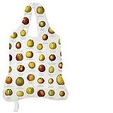 Rannenberg & Friends Apfeltasche - Einkaufsbeutel / Beutel bis 20kg Tragkraft 50x42 cm zusammenfaltbar Pomologie der Äpfel REB042
