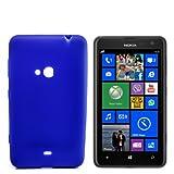 numerva Schutzhülle kompatibel mit Nokia Lumia 625 Hülle Silikon Handyhülle für Nokia Lumia 625 Case [Blau]