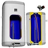 elektrischer Boiler Warmwasserspeicher Elektrospeicher eckig wandhängend Heizleistung 2 oder 4 kW verschleißfreier Keramikheizstab in den Größen 50 80 100 125 160 L L