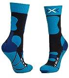 X-Socks Kinder SKI JUNIOR 4.0 Socks, Anthracite Melange/e, 35/38