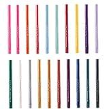 Yililay Bunte Eyelinersatz Mattschimmer Liner Bleistift langlebige Wasserdicht Creamy Gel Eyeliner Cosplay Lidschatten Crayon für Make Up 20PCS