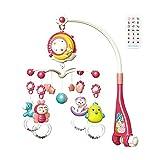 Mobile Baby With Spieluhr - Babybett-Mobile Mit Hängendem Drehbarem Spielzeug - Musikbox Und Projektorfunktion Zum Mitnehmen - Baby-Musikkrippenmobil Mit Licht Und Musik - Geschenk Für Neugeborene
