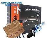 Wattstar H7 Xenon HID Kit, H7 Scheinwerferlampe 6000K 55W, H7 Auto Xenon Weiß, 2 Pack,mit Super-Canbus