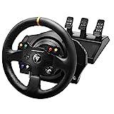 Thrustmaster TX Racing Wheel Leather Edition - Force-Feedback-Rennsimulator für Xbox One und PC - Funktioniert mit Xbox Series X S.
