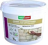 Parexlanko Dichtungen bis zu 3 cm für alle Arten von Platten, Briketts und Ziersteinen an Wänden, gebrochenes Weiß, 15 kg