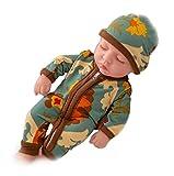Yongmei 10 Zoll Reborn Babypuppe Mit Kleidung, Realistische Schlafende Reborn Babypuppe, Weiches Vinyl Lebensechte Neugeborene Babypuppe, Jungen Und Mädchen Spielzeug Kleinkind Schlafendes Kleinkind