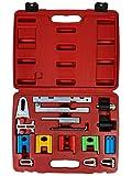 Kraftwelle Nockenwellen-Arretierwerkzeug-Satz 16-teilig Universal Motor Einstellwerkzeug Zahnriemen Werkzeug Nockenwellen Kurbelwelle Arretierwerkzeug