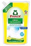 Frosch Citrus Voll-Waschmittel Flüssig 18 WL (5 x 1,8l Beutel)