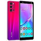 Android Smartphones, Dual Sim Mobiltelefon, 5.0 Zoll Quad-Core 4GB ROM, Dual Kameras, Bluetooth, GPS, WiFi Cell Phones (Rosa)