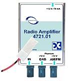 Antennentechnik Bad Blankenburg Rundfunkverstärker (AM/FM, DAB/DAB+) mit integriertem Sp