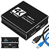 IPXOZO 7FGHFD HDMI Video Capture Card, USB 3.0 Game Capture Card dfgfg 1080P Capture Adapter für Streaming fdgdgsd