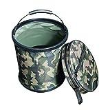 Envisioni Faltbarer Trinkwasserbehälter, 15 l, für den Außenbereich, für Sport, Camping, Wandern, Picknick, Grillen