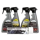 Auto-Pflegeset CLEAN CAR für den Innenraum | Reiniger & Pflege für Polster, Scheiben, Cockpit + Geruchsvernichter | 5-teilig