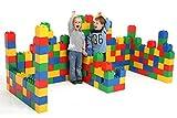 Wader Quality Toys Bausteinblock XXL, 72 Teile