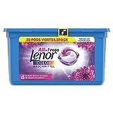 Lenor Waschmittel Pods All-in-1, Color Waschmittel, Amethyst Blütentraum, 38 Waschladungen