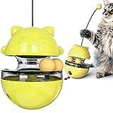 Katzenspielzeug, lustiger Becher für Haustiere, langsames Fressen, Unterhaltungsspielzeug, zieht den Snack für Haustiere an (Farbe: Rosa)