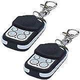 2 STK. QL1® 222-016 Ersatz Handsender für Motorline: MX4SP, MXS4SP, MX5SP, Falk - Rolling Code/Wechselcode/Keeloq 433,92 MHz