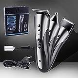 Haarschneidemaschine,für Männer Profi Haarschneider,Ausgestattet mit 4 Grenzkämmen zum Trimmen von Männerhaaren, Bart- und Nasenhaaren