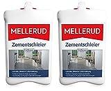 MELLERUD Zementschleier Entferner 2,5 l gegen Zementreste Salpeterausblühungen (2 Stück)