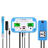 Chenbz 3 in 1 pH/EC/Temp Wasserqualität Detektor PH-Controller Repleaceable Electrode BNC-S