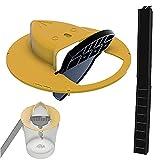 HIMAPETTR Upgrade Slide Bucket Lid Maus Rattenfalle, Rattenfalle Mit Rampe, Auto Reset, schnell effektiver, hygienisch sichere, 5-gallonen-Eimer Schnellkompatibel, für Familien und Haustiere