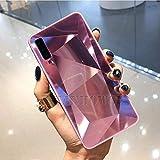Schutzhülle für iPhone 11 Pro Xr Xs Max, 3D-Spiegel, Diamanten, weich, für iPhone 6S, 7, 8, 6 Plus, Prisma-Laser-Gradient, Rück