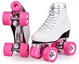 Haojie Roulette Skate Vier Touren Radschuhe Frauen Mädchen Junge Kinder, schöne Farbe Korrespondenz, PU-Räder,C,42