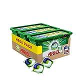 Ariel 3in1 PODS Vollwaschmittel, 114 Waschladungen (1 x 3 x 38 Waschladungen)