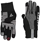 CAT Eye Classic Reflective Long Finger Cycling Gloves (Grey - S)