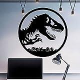 Dinosaurier Wandtattoo Jurassic Park World Wand Fenster Aufkleber Vinyl Wohnkultur Kinderzimmer Aufkleber Wandbild Wandaufkleber A9 57x57cm