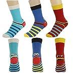 Wowerat Socken Strümpfe Jungen Mädchen Motiv Freche Bande oder andere Motive 3er Set 23-26