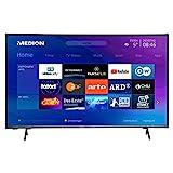 MEDION X15556 146,1 cm (58 Zoll) UHD Fernseher (Smart-TV, 4K Ultra HD, HDR, Micro Dimming, Netflix, Bluetoth, PVR, CI+, WLAN)