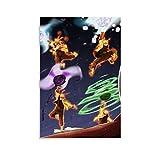 WUSOP Naruto Senki Mod Apk Leinwand Kunst Poster und Wandkunst Bilddruck Moderne Familienzimmer Dekor Poster 20x30inch(50x75cm)