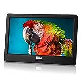 Tragbarer Mini Fernseher - August DA900D - 9 Zoll mit Akku - Portabler hochauflösender LCD TV mit DVB-T2 HD Tuner / EPG / Aufnahmefunktion (PVR) / Multimediaplayer / HDMI-In / USB / Kopfhöreranschluss